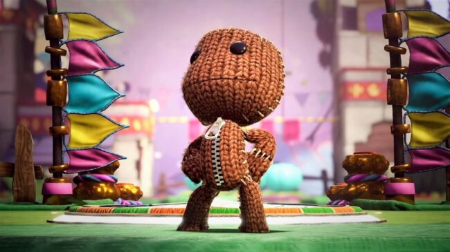 Playing Sackboy: A big adventure with friends